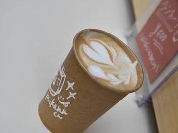 yuricafeのラテアートとコーヒー